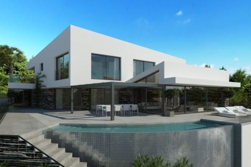 дома на Costa den Blanes