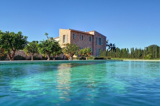 Exceptional Mallorcan country house with the highest standards and Niveau in Son Negre