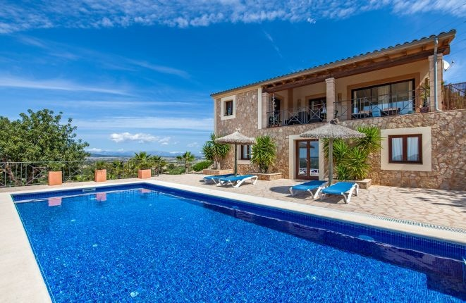 Dream house with panoramic views in Son Macia
