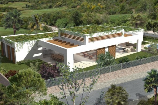 Large, modern newly-constructed villa in Sol de Mallorca