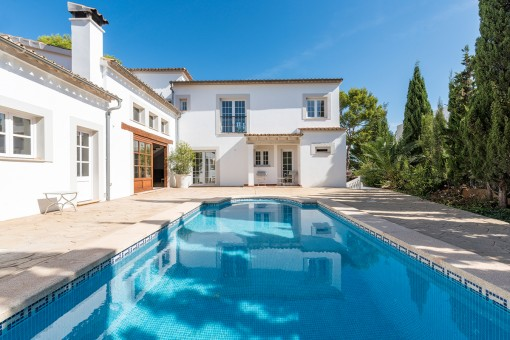 Spacious villa in calm surrounding of Palmanova
