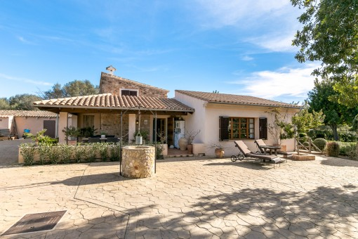 Idyllic finca near to Llucmajor