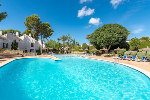 Charming terraced house close to the beach in Sol de Mallorca