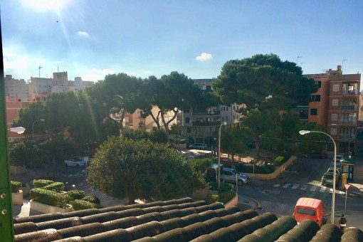 Furnished terraced house with patio, terrace and garage, only 200 metres from the Playa de Palma