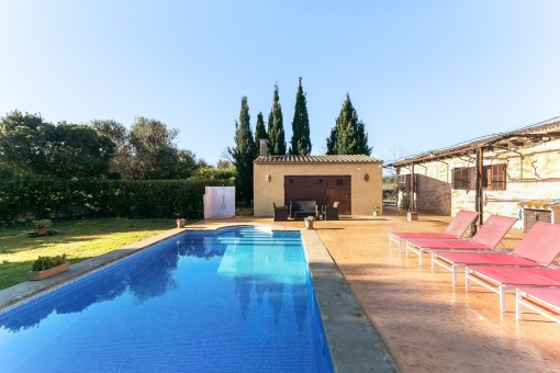 Beautiful finca with pool and holiday renting license near to Arta