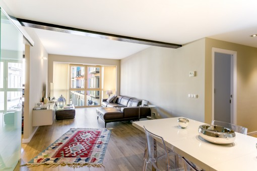Beautiful apartment with views of the old town of Palma