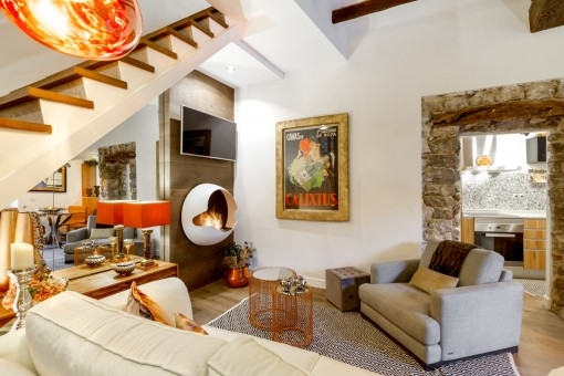 Beautiful house in Valdemossa, completely furnished by an internationally-renowned interior architect