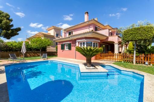 Sunny villa in Puig de Ros close to Palma