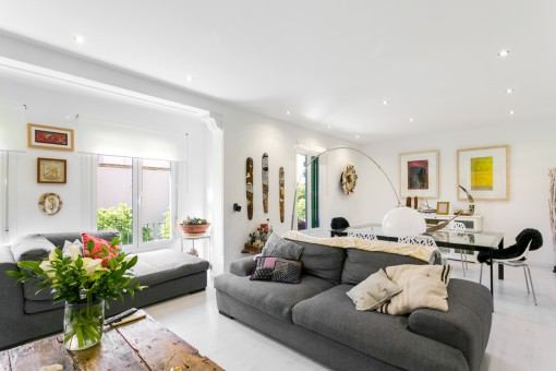 Wonderful, bright apartment with parking space in Palma Bons Aires
