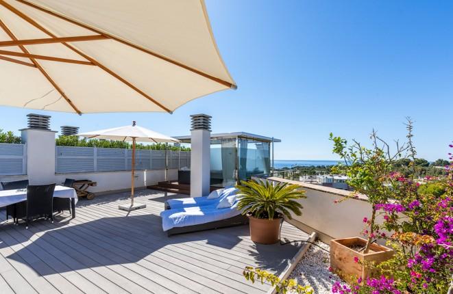 Modern penthouse apartment in Sol de Mallorca...