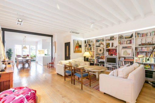 Wonderful, spacious apartment in the historic centre of Palma