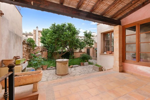 Traditional mallorcan town house located in the heart of Capdepera with great views to the castle