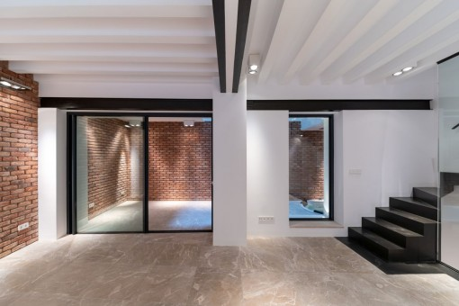 Wonderful duplex apartment in a quiet old town location in Palma for first occupation