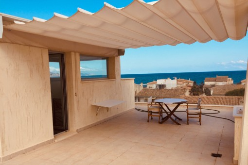 Modern comfortable architect's house with impressive sea views in Son Serra de Marina from November 2020