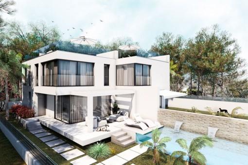 дома на Bahia Grande